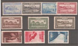 Sellos De Rumania 344/50 - Nuovi