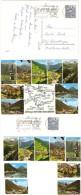 AK 4233 Arlberg-Silvretta-Rundfahrt Mehrbildkarte 9 Bilder 6. 6. 68 SCHRUNS Werbestempel LUFTKURORT Schruns MONTAFON KUR - Schruns