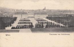 CPA WIEN- SCHONBRUNN PALACE PANORAMA, GARDEN - Château De Schönbrunn