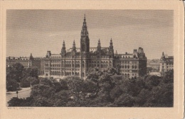 CPA WIEN- TOWN HALL PANORAMA - Château De Schönbrunn