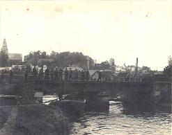 PICARDIE - 80 - SOMME  - 1914-18 - Photo GRAND PONT  DE PICQUIGNY Avec Belle Animation - Guerre 1914-18