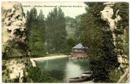 75 PARIS 19 BUTTES CHAUMONT ENTR LES ROCHES - Arrondissement: 19