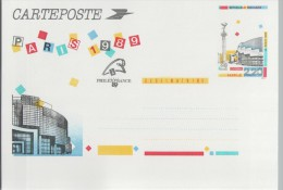 Care Postale Avec Entier Postal - OPERA BASTILLE 2.20F - Scans Recto/verso - Cartes Postales Types Et TSC (avant 1995)