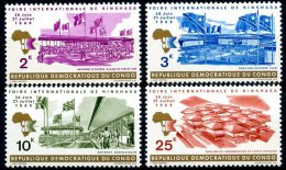 Rep. Congo   689 - 692   XX   ---   TTB - République Démocratique Du Congo (1964-71)