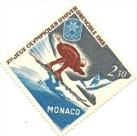 1967 - Monaco 733 Olimpiadi Di Grenoble, - Inverno1968: Grenoble