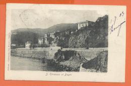 HB370, San Terenzio Ai Bagni, Précuseur, Circulée  1903 - Italie