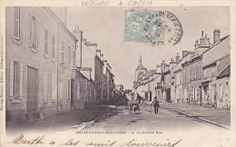 Cpa-45-chateauneuf Sur Loire-animée, Voiture A Chien-grande Rue-precurseur-edi :harang Ducloux - Sonstige Gemeinden