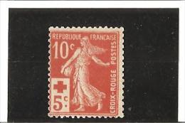 AU PROFIT DE LA CROIX ROUGE  N° 147 ** - Unused Stamps