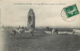31-88  CPA  LABARTHE  DE RIVIERE La Touraque Monument Construit Par Les Romains Vaches   RARE  Belle Carte - Autres Communes