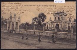 Tonkin : Hanoï : Route De Sinh-Tü - Pagode De Confusius ; Timbres Indochine Française, 1913 (12´710) - Viêt-Nam