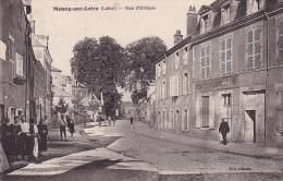 Cpa-45-meung Sur Loire-animée- Rue D'orleans-edi : Hilaire - Frankrijk