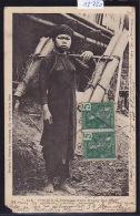 Tonkin : Jeune Porteuse D´eau Muong Bao-Ha Vers 1900 - Timbres Indochine Française ; Coin Inf. G Perdu (scan) (12´720) - Viêt-Nam