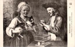 DIJON : Le Musée - Tentation : Gaspard Gresly (1710-1756) - Ecole Française - Dijon