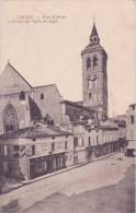 16 COGNAC, Place D'armes Et Clocher De L'église Saint Léger - Cognac