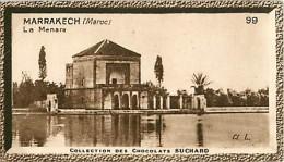 CHOCOLAT SUCHARD : IMAGE N° 99 . MARRAKECH . LA MENARA . MAROC . - Suchard
