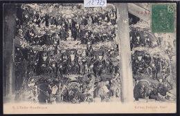 Tonkin : Hanoï - Collection Passignat : L'Enfer Boudhique Ca 1905 - Timbres Indochine Et Taxe Françaises 1907 (12´729) - Viêt-Nam