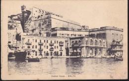 CPA - (Malte) Custom House - Malta (datée 1917) - Malta