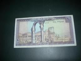 Libano.  10 Livres. - Libano