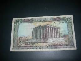 Libano.  50 Livres. - Libano