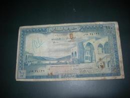 Libano.  100 Livres. - Líbano