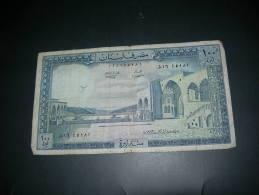 Libano.  100 Livres. - Libano