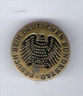 Medaille , BESUCH BEIM DEUTSCHEN BUNDESTAG  , 2 Scans - Allemagne