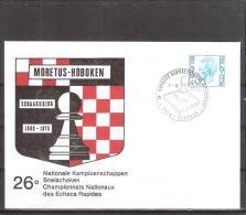 Belgique: lettre oblit�ration 01/06/1975  26i�mes championnats nationaux � Hoboken.