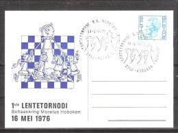 Belgique: Carte  oblit�ration 16/05/1976 1ier tournoi de Printemps � Hoboken.