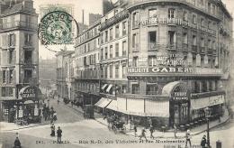 Paris- Rue N.-D. Des Victoires Et Rue Montmartre. - France
