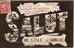 Salut De L Isle Sur Sorgue - L'Isle Sur Sorgue
