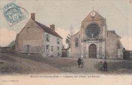 60 - MAREUIL SUR OURCQ / L'EGLISE XIIè SIECLE - LE PORTAIL - Other Municipalities