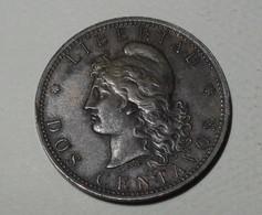1884 - Argentine - Argentina - DOS CENTAVOS - KM 33 - Argentina