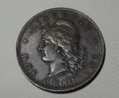 1884 - Argentine - Argentina - DOS CENTAVOS - KM 33 - Argentinië
