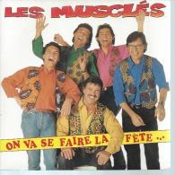 """45 Tours SP - LES MUSCLES  -  AB 01151 - """" ON VA SE FAIRE LA FETE... """" + 1 - Vinyles"""