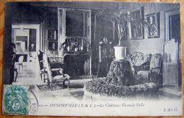 Cpa OYSONVILLE 28 Le Château - Grande Salle - Autres Communes