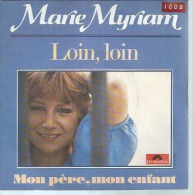 "45 Tours SP - MARIE MYRIAM  -  POLYDOR 2056762 - "" LOIN, LOIN "" + 1 - Vinyles"