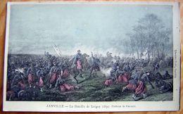 Cpa JANVILLE 28 La Bataille De Loigny 1870 - Tableau De Duvaux - Francia