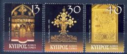 ##Cyprus 2006. Christmas. Religious Art. Michel 1083-85. MNH(**) - Chypre (République)