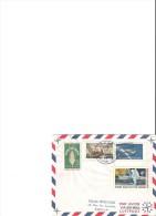 Récupération Apollo 13   17 Avril 1970  USS Kawishiwi - Lettres & Documents