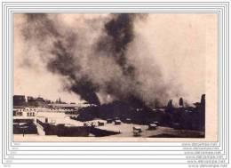 CPA  -  CARTE  PHOTO   DAMAS  (Syrie)  -  DAMAS  EN  FEU  Le  8 Juin 1926 - Syrië