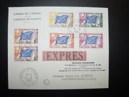 14.9.1959  STRASBOURG CONSEIL  COUNCIL EUROPE EUROPARAT - Lettres & Documents