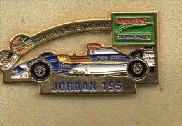 Pin F! Jordan 195 Peugeot Barichello Eddie Irvine Distintivi Pins Spilla Auto - Unclassified