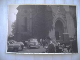 LAUSANNE    AUTO CAR      SVIZZERA    GIUGNO    1954   PHOTO - Luoghi