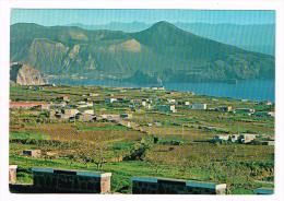 E2889 Lipari (Messina) - Isole Eolie - Pianoconte - Il Cratere E Isola Di Vulcano / Non Viaggiata - Altre Città