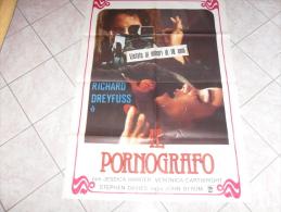 MANIFESTO EROTICO IL PORNOGRAFO RICHARD DREYFUSS - Manifesti & Poster