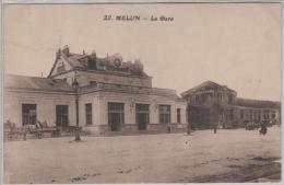 MELUN, La Gare - Melun