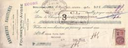 PAS DE CALAIS - BOULOGNE SUR MER - ARMEMENTS MARITIMES - SALAISONS - FOURMENTIN AVISSE - 1930 - Lettres De Change
