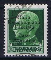 Italy R.S.I. Base Atlantica, 1943 , Nr 4