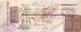 PAS DE CALAIS - CALAIS - E. & O. DUNIAGOU FRERES - 1889 - Lettres De Change
