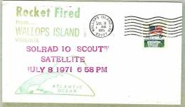 Wallops Island - Scout Rocket -1971 - Briefe U. Dokumente